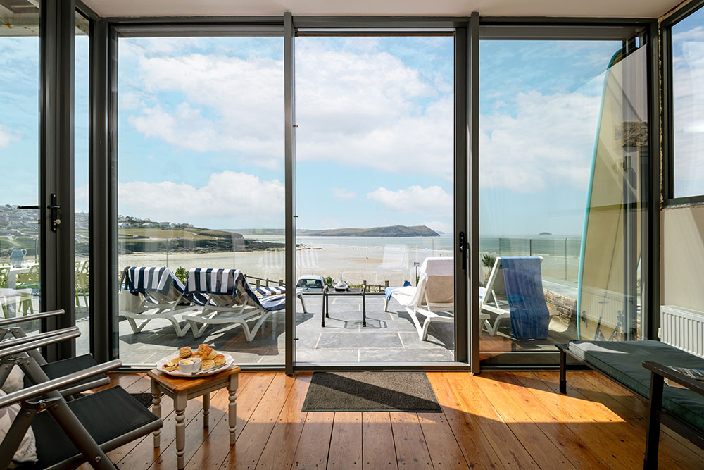 Luxury self-catering accommodation by the beach in Cornwall | Atlantic View Holidays